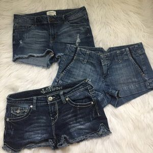 Jean Short Bundle🌼